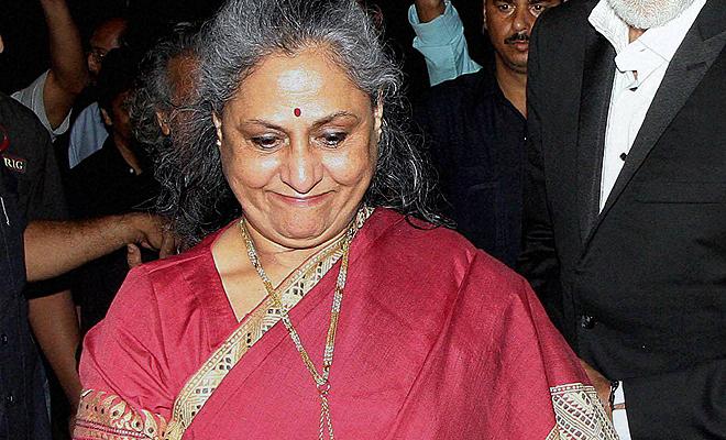 File photo of Samajwadi Party leader Jaya Bachchan