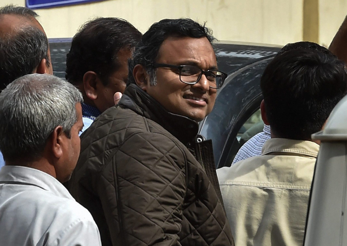 INX media case: Karti Chidambaram seeks a separate cell in
