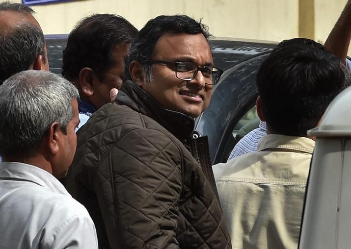 Karti Chidambaram, son of former union minister P