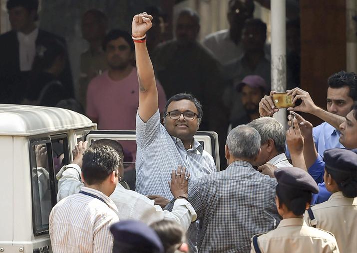 INX Media case: SC restrains ED from arresting Karti