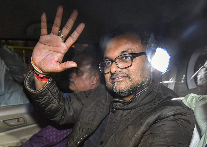 Delhi HC reserves order on Karti Chidambaram's bail plea