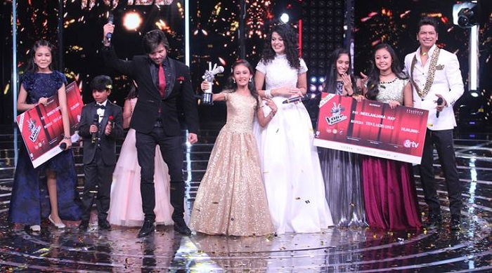 India Tv - Manashi wins Voice of India