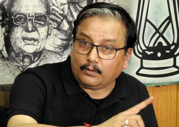 File pic of RJD leader Manoj Jha