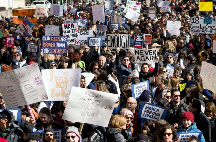 MarchForOurLives: Youth-led rally to demand gun control is