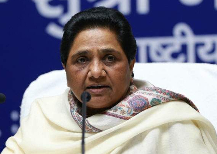 Mayawati demands sedition charges against people