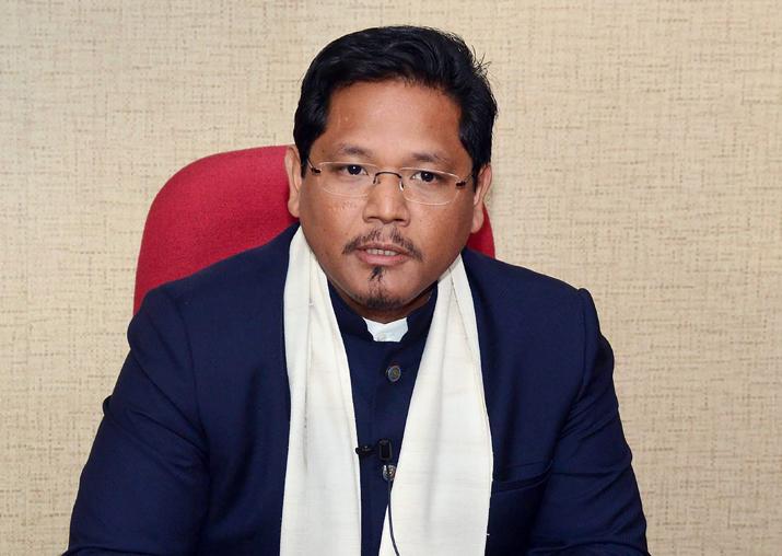 Newly sworn-in Meghalaya Chief Minister Conrad Sangma