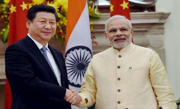 Image result for narendra modi photos with china president