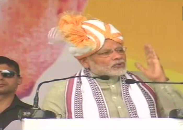 LIVE: PM Modi addresses public meeting in Manipur's Imphal