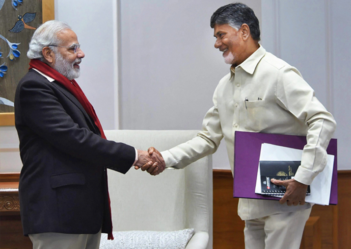 India Tv - File photo - PM Narendra Modi with TDP President and Andhra Pradesh Chief Minister N Chandrababu Naidu