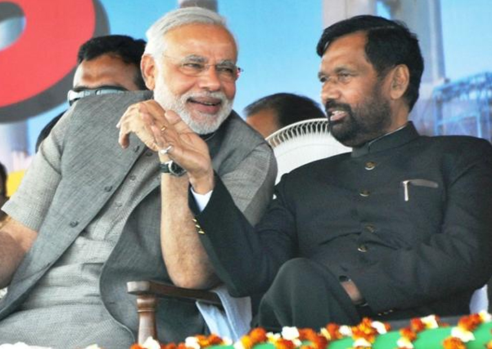 Amid Dissent Within Nda Ljp S Ram Vilas Paswan Says Leaving Alliance Unthinkable Modi Will Remain Pm National News India Tv
