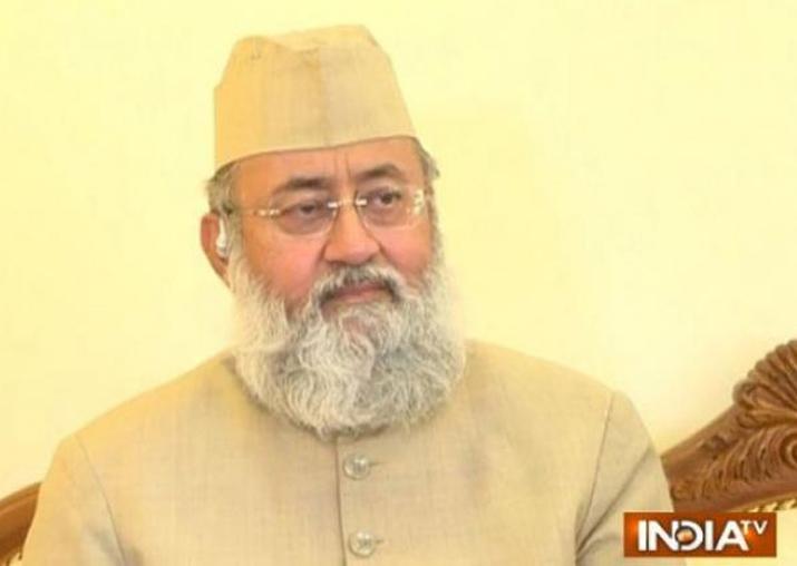 File pic - Expelled AIMPLB member Maulana Salman Nadvi to