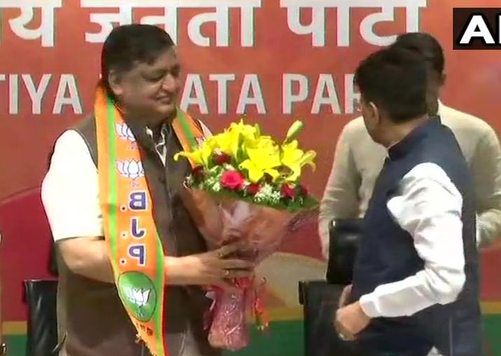 After Rajya Sabha snub, senior Samajwadi Party leader joins