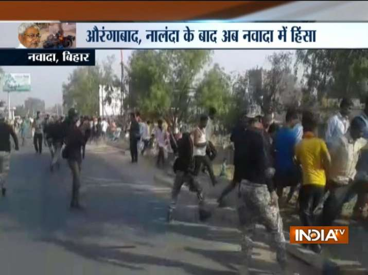 Communal clashes erupt in Bihar's Nawada,