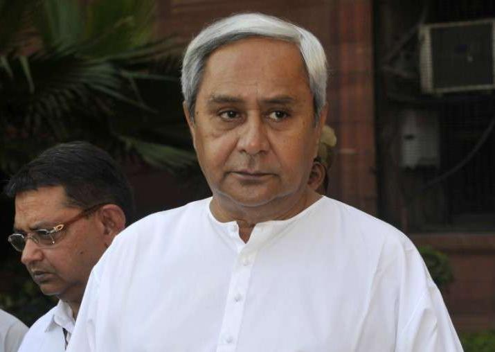File pic of BJD supremo Naveen Patnaik