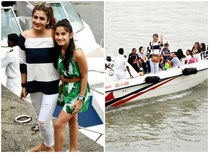 Raveena Tandon daughter Rasha birthday
