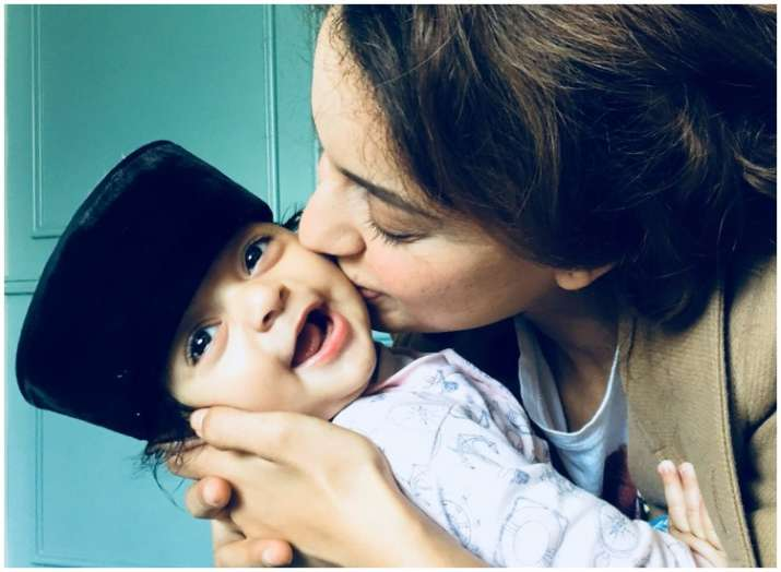 Kangana Ranaut showers love on nephew Prithvi