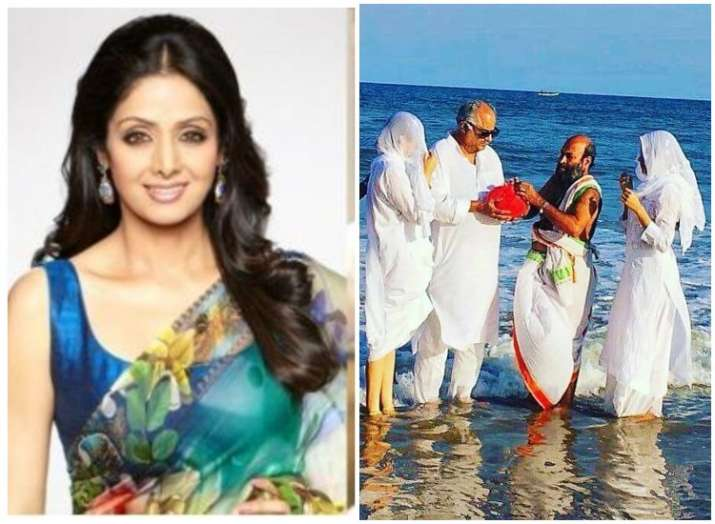 Sridevi ashes immersed