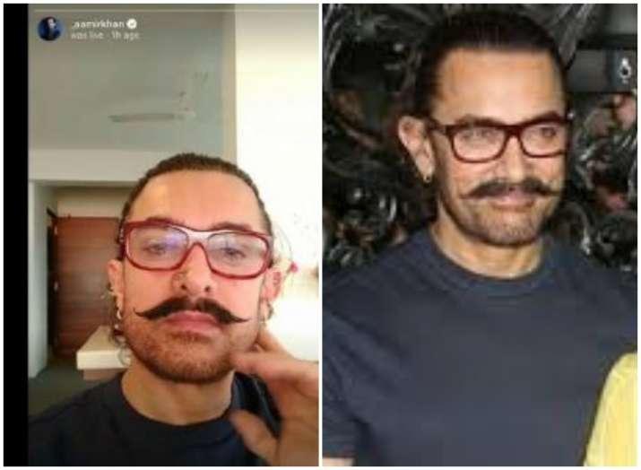 Aamir Khan goes live on Instagram
