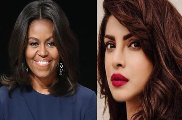 Priyanka Chopra, Michelle Obama