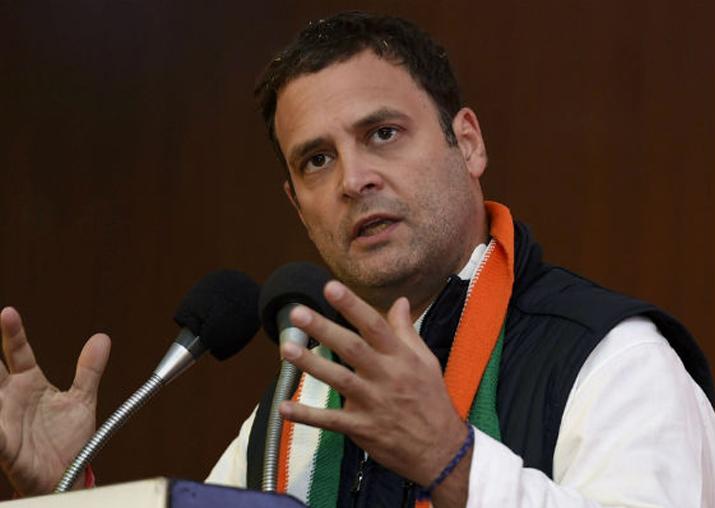 File pic of Congress president Rahul Gandhi