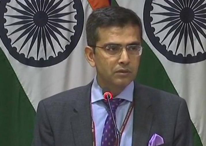 MEA spokesperson Raveesh Kumar