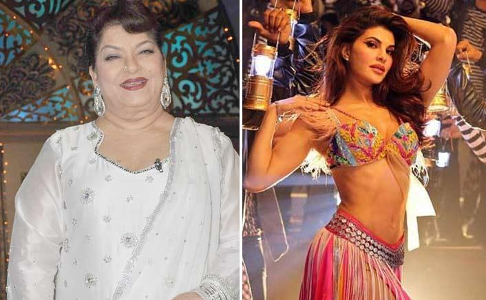 Jacqueline Fernandez Ek Do Teen in Baaghi 2 saroj khan