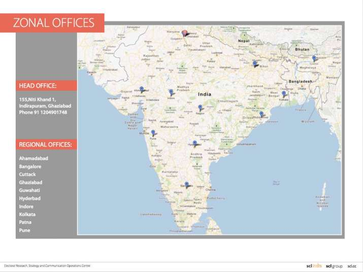 India Tv - According to details shared by Wylie, the head office of SCL India is at Indirapuram In Uttar Pradesh's Ghaziabad and the company maintains regional offices in Ahmedabad, Bangalore, Cuttack, Ghaziabad, Guwahati, Hyderabad, Indore, Kolkata, Patna and Pune.
