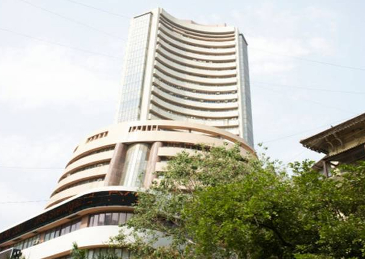 Sensex shrugs off positive GDP numbers, sinks 137 points to