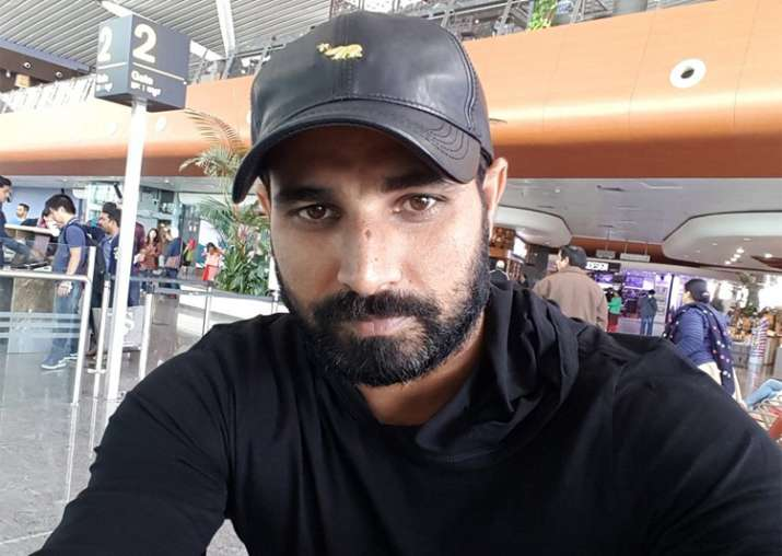 A file image of India fast bowler Mohammed Shami.