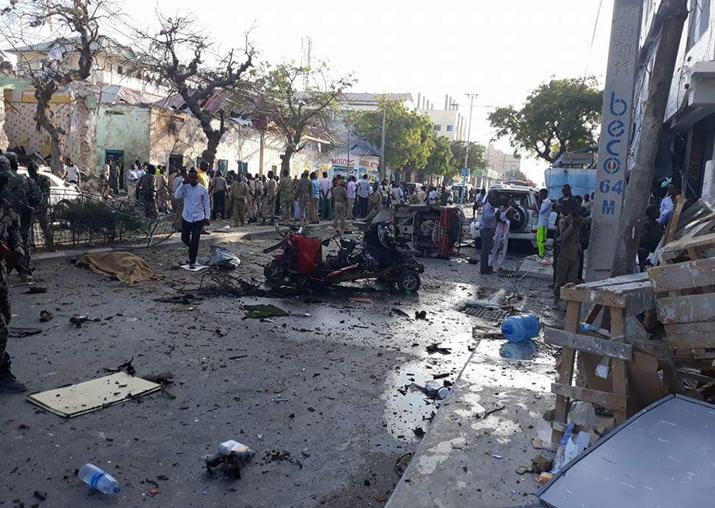 At least 14 dead, several hurt in car bomb in Somali