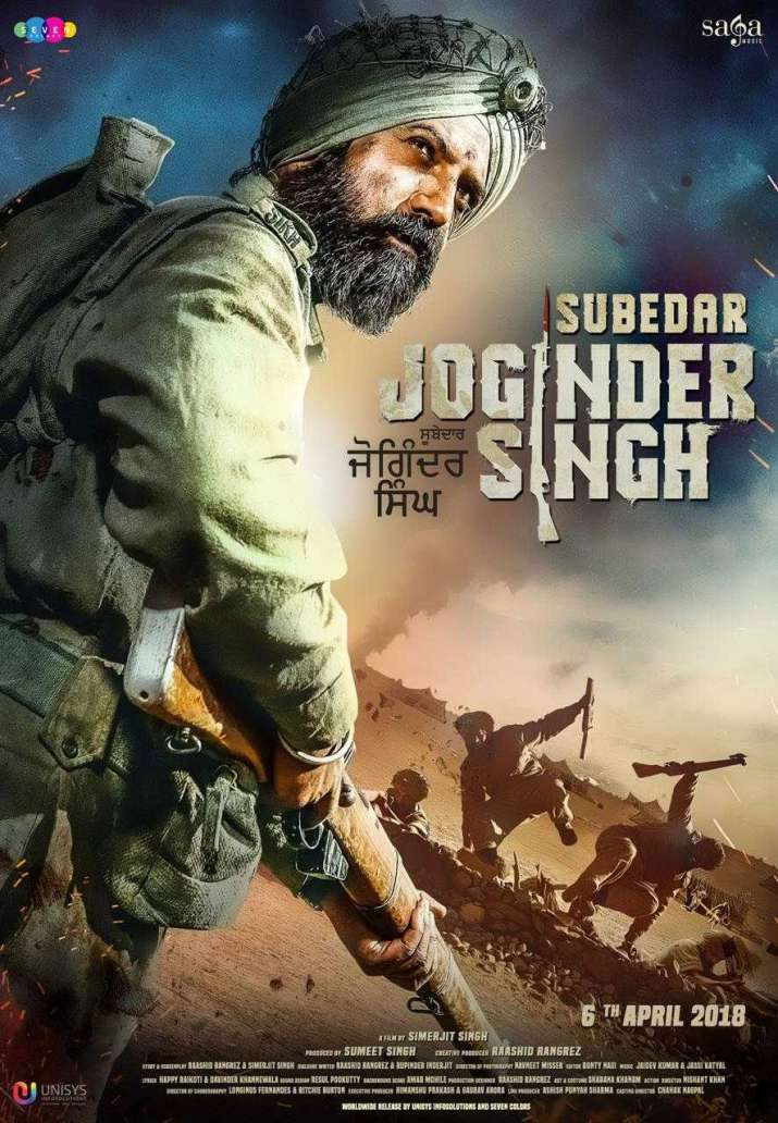 India Tv - Subedar Joginder Singh biopic official poster out: Gippy Grewal is all set to impress (In Pic)
