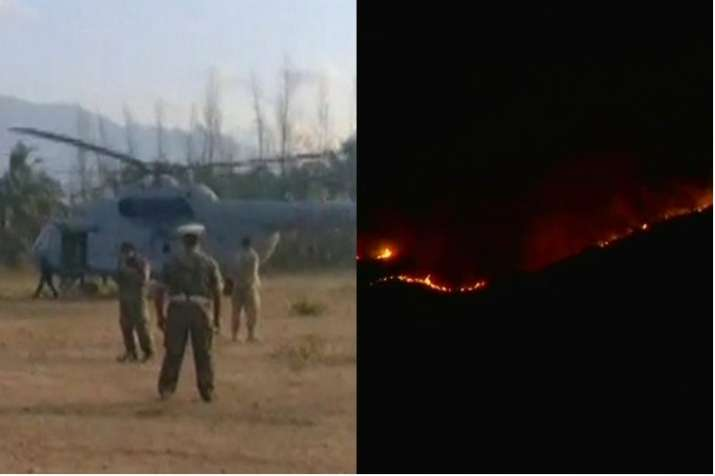 Tamil Nadu forest fire: 15 out of 37 campers rescued,