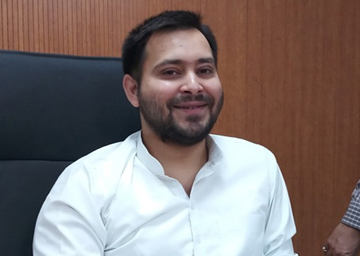 File pic of Tejashwi Yadav