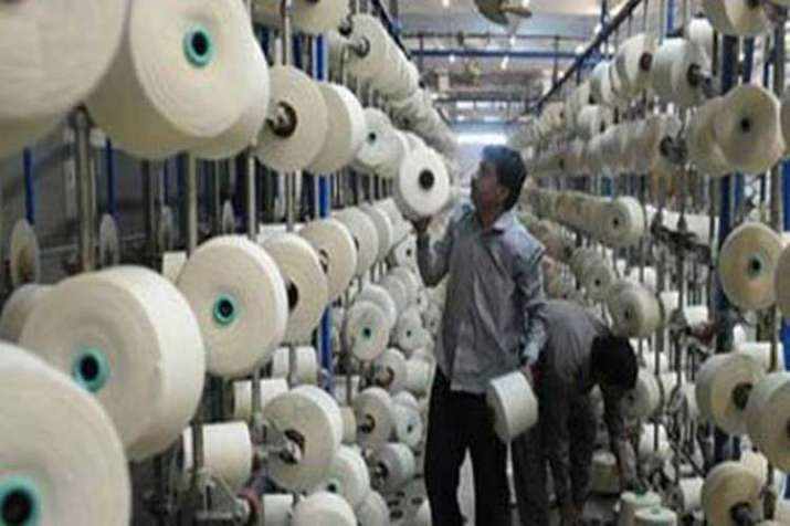 An employee of textile sector