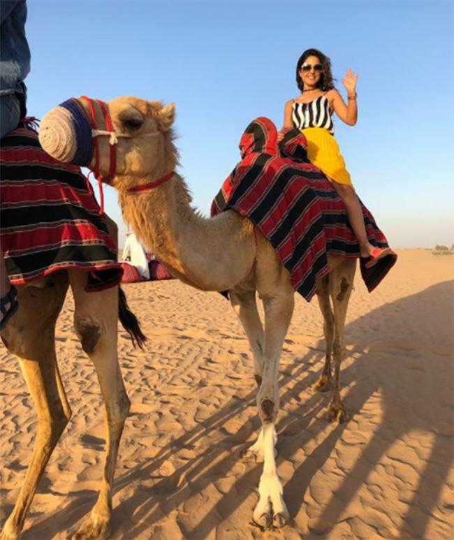 India Tv - Hina Khan in Dubai