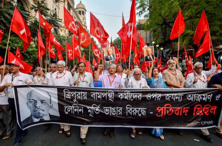 Kolkata: CPI(M) General Secretary Sitaram Yehchuri with