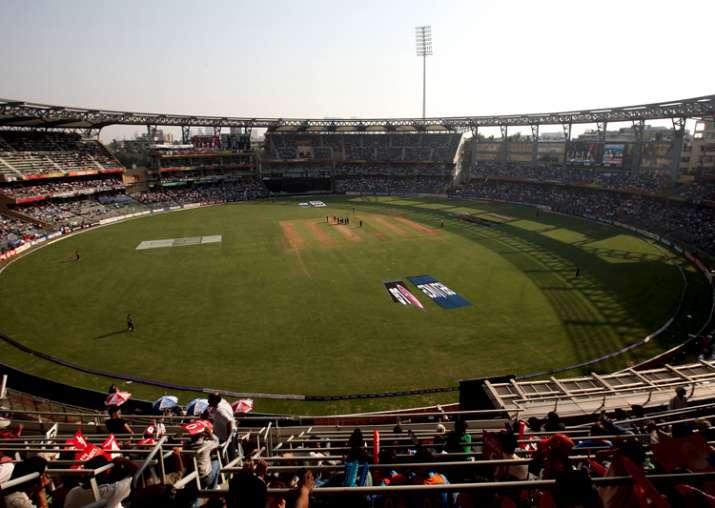 wankhede stadium mumbai history odi t20i test match IPL records pich report and average score