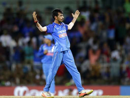 A file image of leg-spinner Yuzvendra Chahal