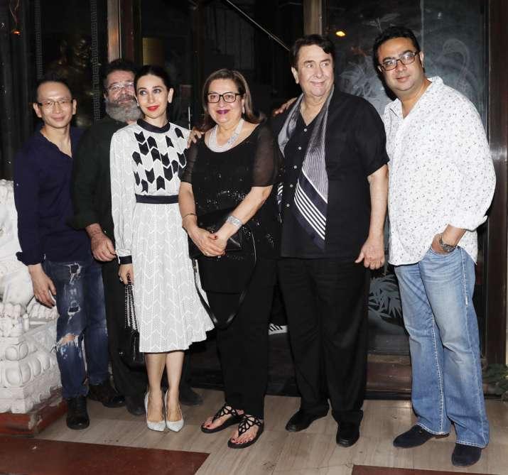 India Tv - Babita Kapoor birthday bash