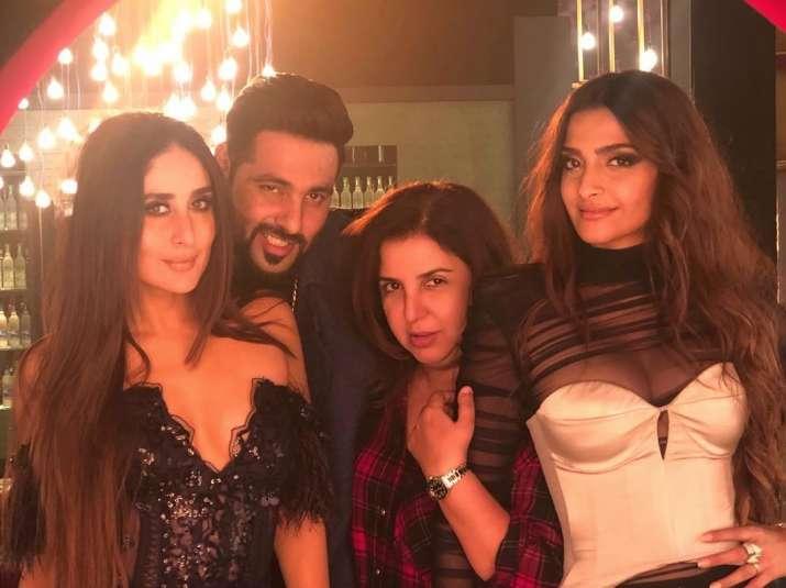 Veerey Di Wedding.Veerey Di Wedding Sonam Kapoor Kareena Kapoor Khan Shoot For