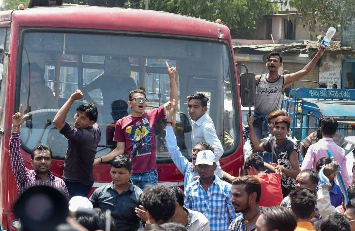 Clashes continued across India as protesters today demanded