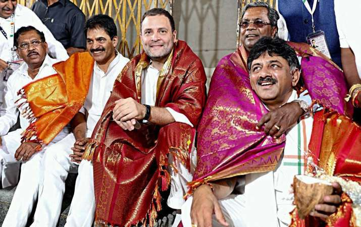 The Congress has been accused by the BJP of dividing the