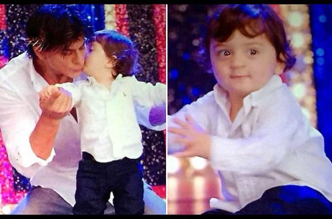 Shah Rukh Khan on son AbRam