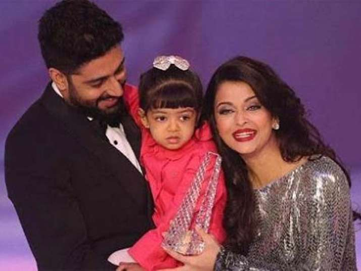 India Tv - Aishwarya, Abhishek and Aaradhaya