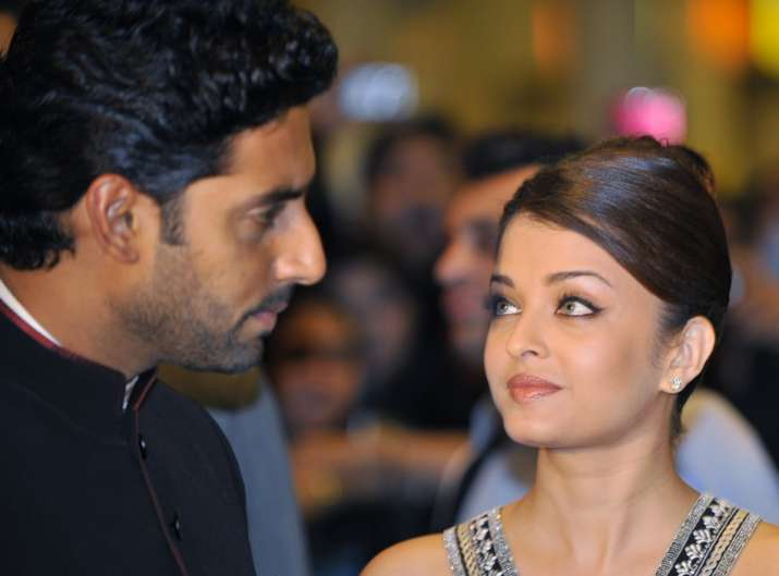 India Tv - Couple Aishwarya Rai and Abhishek Bachchan