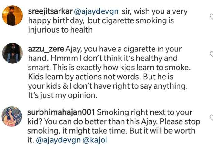 India Tv - Ajay Devgn criticised for smoking