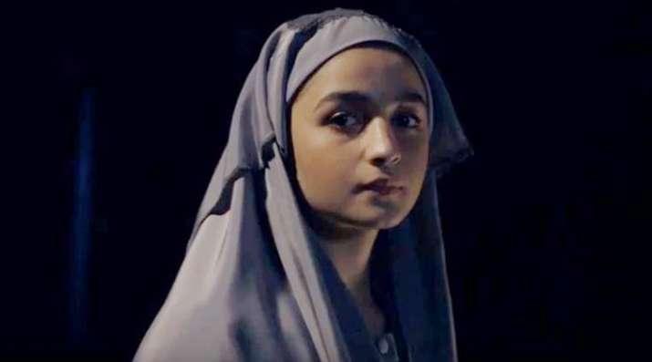 Alia Bhatt in Raazi teaser