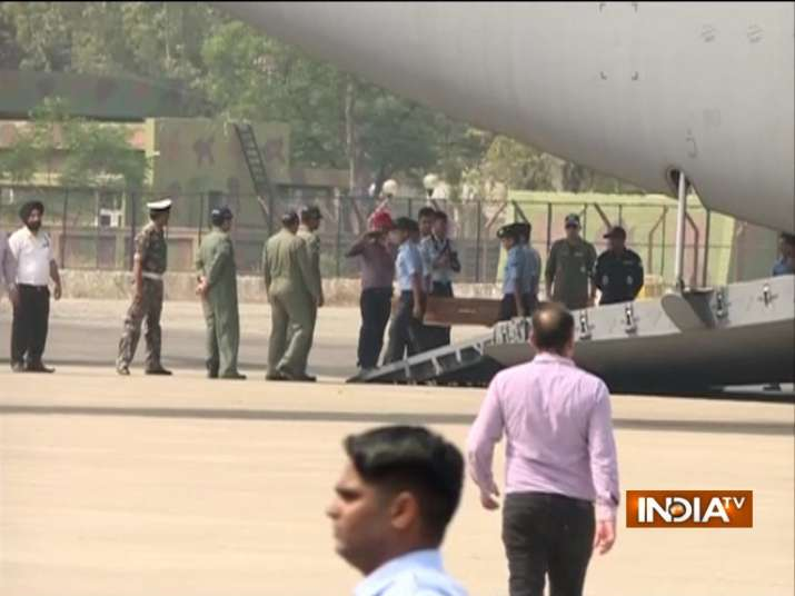 Mortal remains of 38 Indians killed by ISIS in Iraq arrive