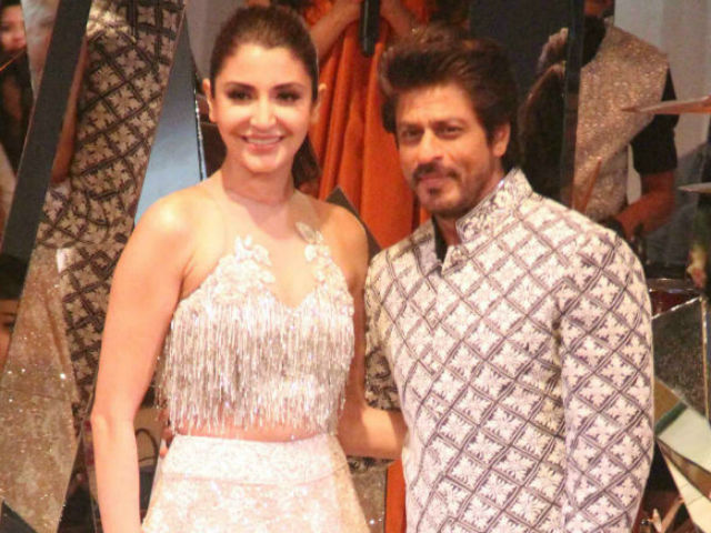 India Tv - SRK and Anushka