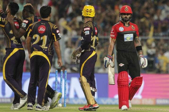 IPL 2018 Kolkata Knight Riders vs Royal Challengers Bangalore